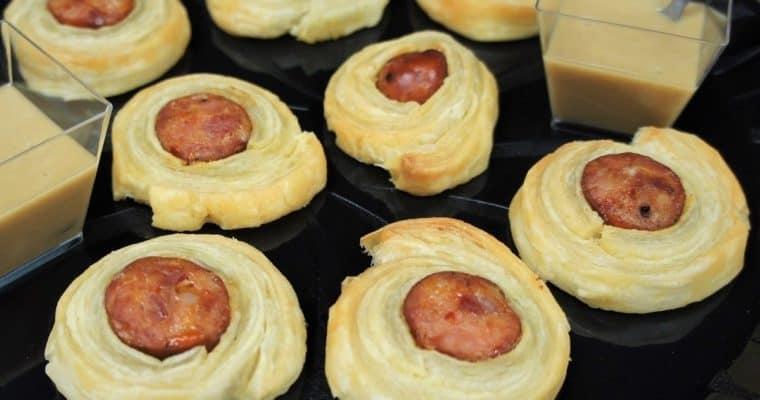 Andouille Sausage Puffs