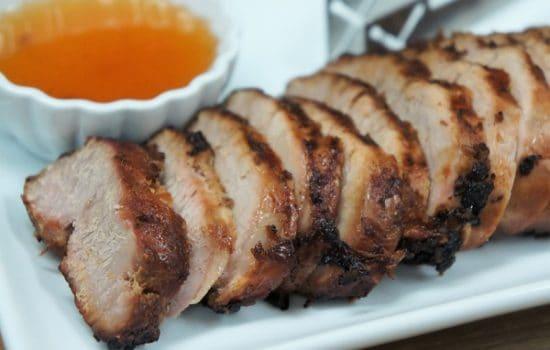 Asian Marinated Pork Tenderloin