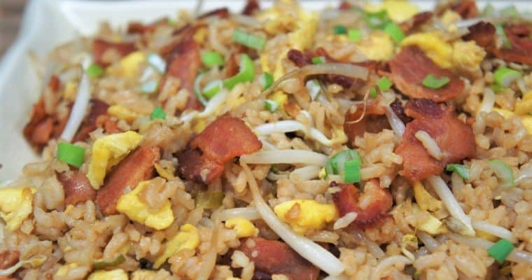 Bacon & Eggs Fried Rice