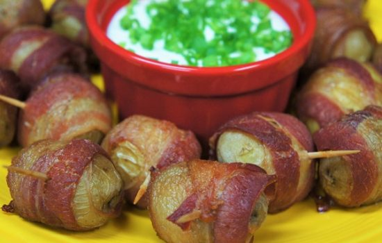 Bacon Potato Bites