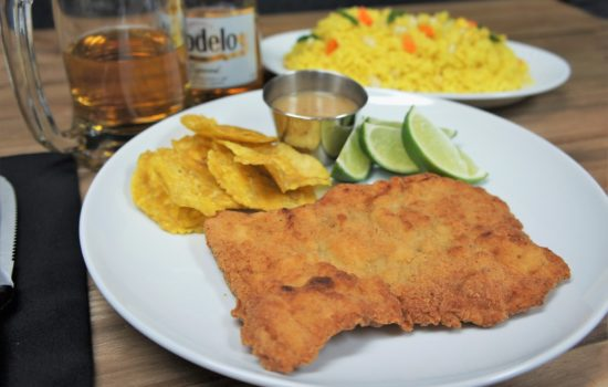 Breaded Pork Steak