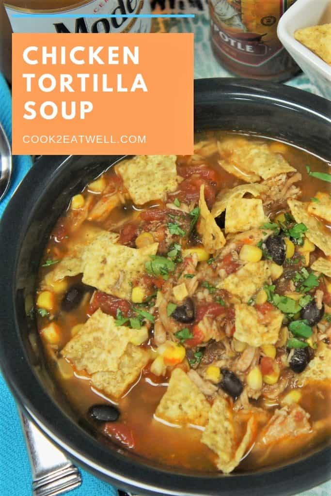Chicken Corn Tortilla Soup