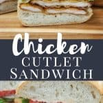 Chicken Cutlet Sandwich PIN
