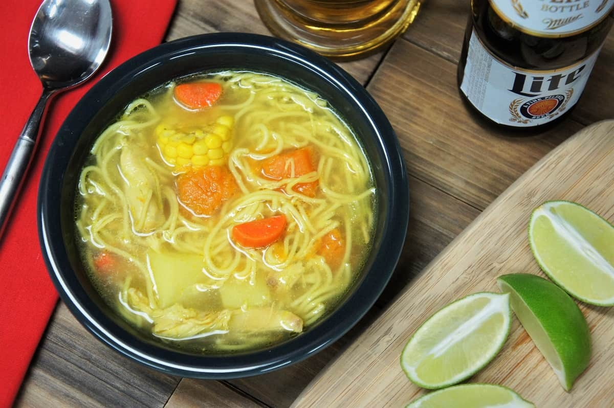 Cuban Chicken Soup