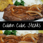 Cuban Cube Steak