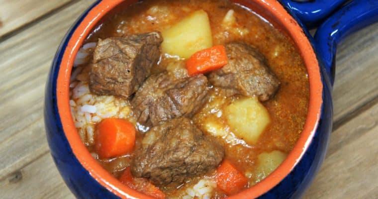 Sopa de Res (Cuban-Style Beef Soup)