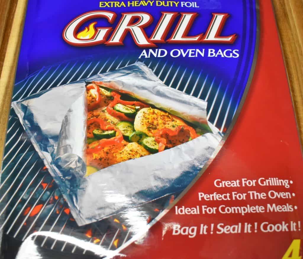 Foil Packs for the Grill