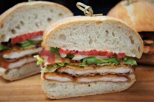 Fried Chicken Cutlet Sandwich
