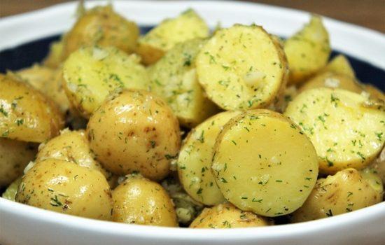 Garlic Dill Potatoes