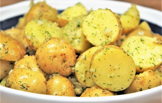 Garlic Dill Potatoes