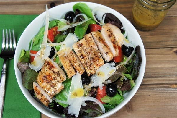 Grilled Chicken Italian Salad