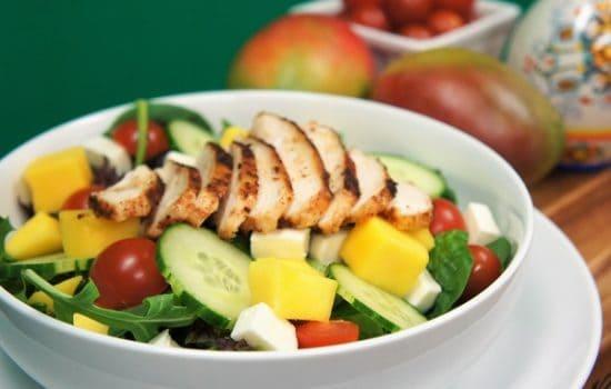 Grilled Chicken Mango Salad