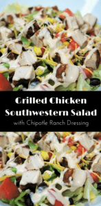 Grilled Chicken Southwestern Salad