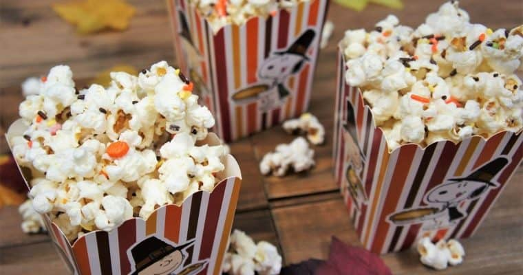 Harvest Festival White Chocolate Popcorn