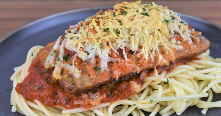 Italian Sausage Parmigiana