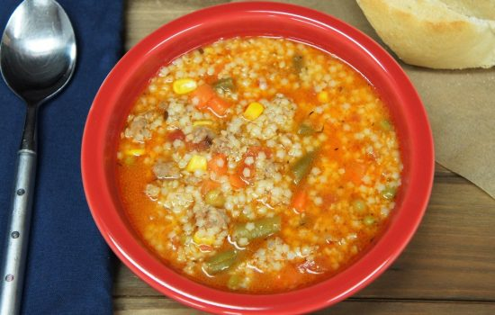 Italian Sausage and Pastina Soup
