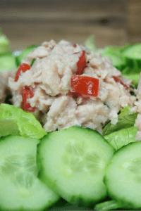 Lemon Tuna & Tomato Salad