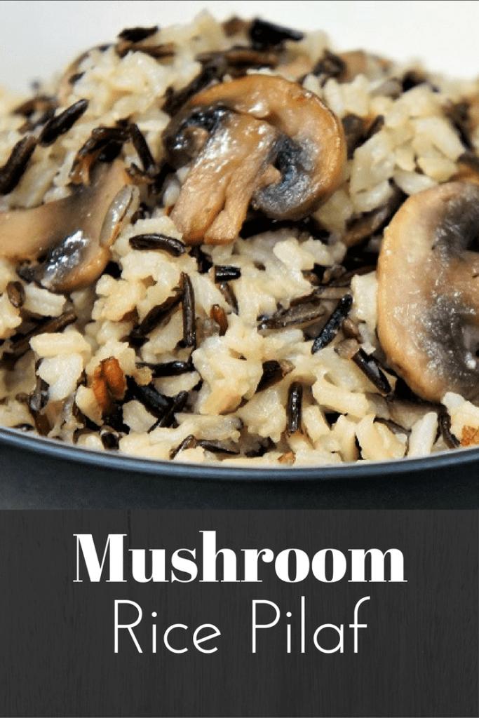 Mushroom Rice Pilaf