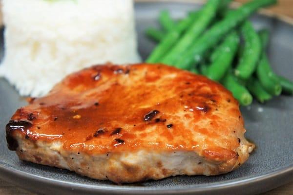 Orange Glazed Pork Chops
