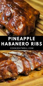 Pineapple Habanero Ribs