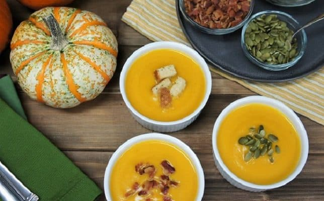 Pumpkin & Apple Soup
