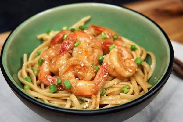 Shrimp & Sesame Noodles