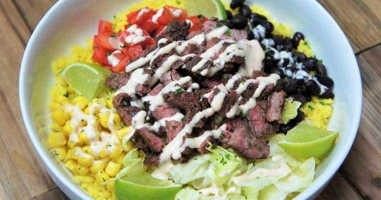 Southwestern Steak Bowl