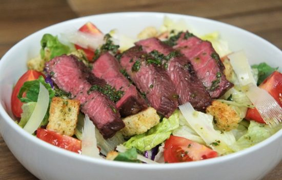 Steak Salad & Chimichurri Dressing