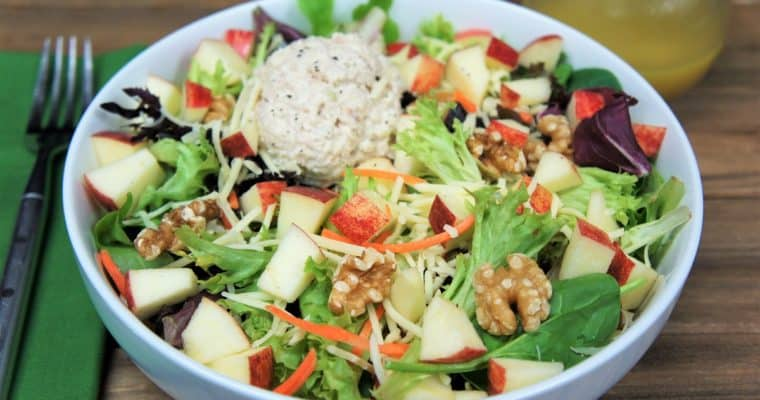 Tuna Apple White Cheddar Salad