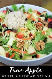 Tuna Apple White Cheddar Salad