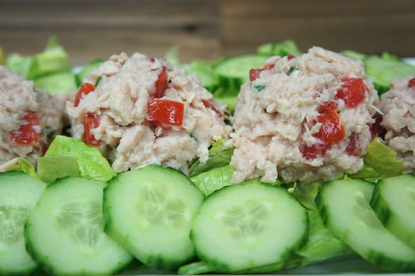 Lemon Tuna & Tomato Salad