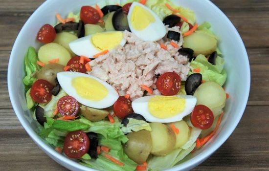 Tuna Potato & Egg Salad