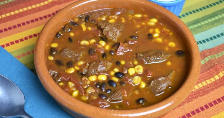 Southwestern Steak Soup