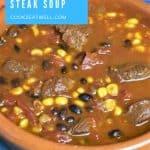 Southwestern Steak Soup