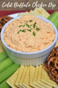 Cold Buffalo Chicken Dip