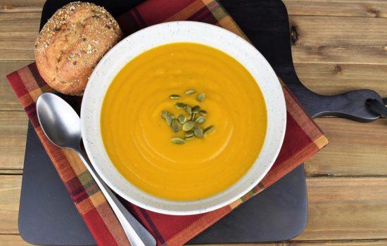 Ginger Spiced Pumpkin Soup