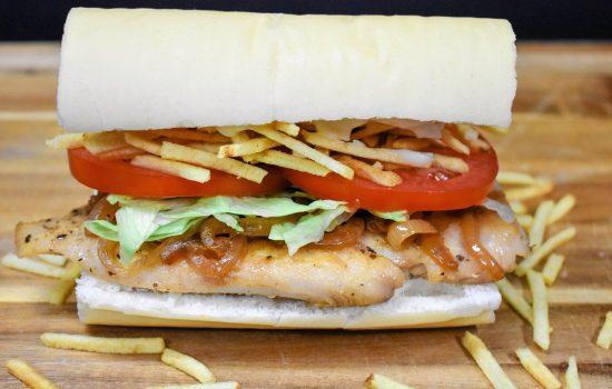 Cuban Chicken Sandwich