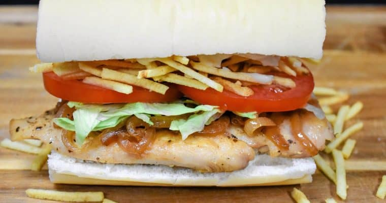 Cuban Chicken Sandwich