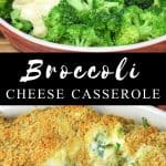 Broccoli Cheese Casserole Pin