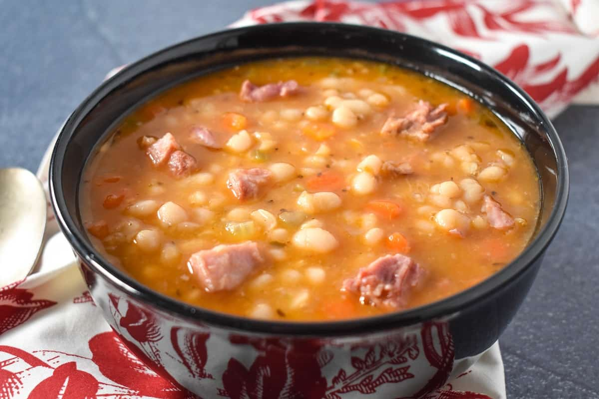 Navy Bean Soup Cook2eatwell