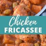Chicken Fricassee Pin