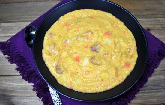 Cuban Split Pea Soup