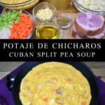 Potaje de Chicharos (Cuban Split Pea Soup)