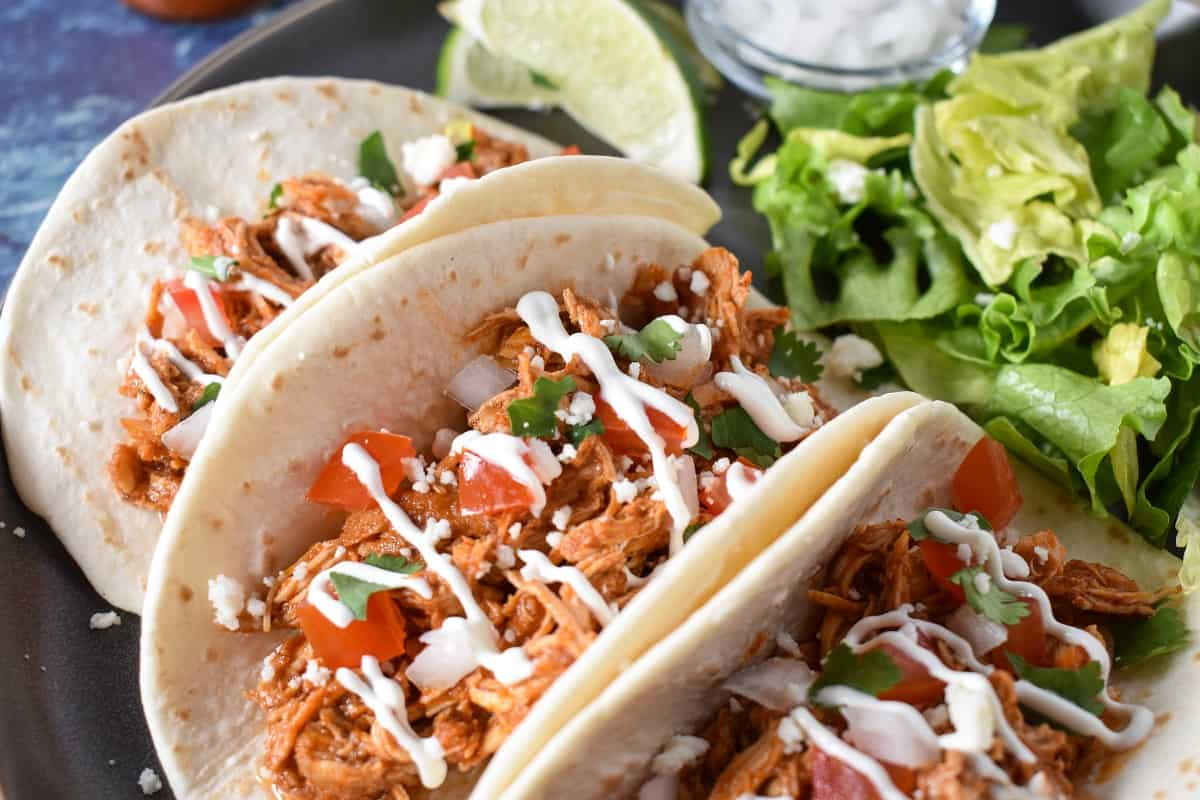 Shredded Chicken Tacos Cook2eatwell