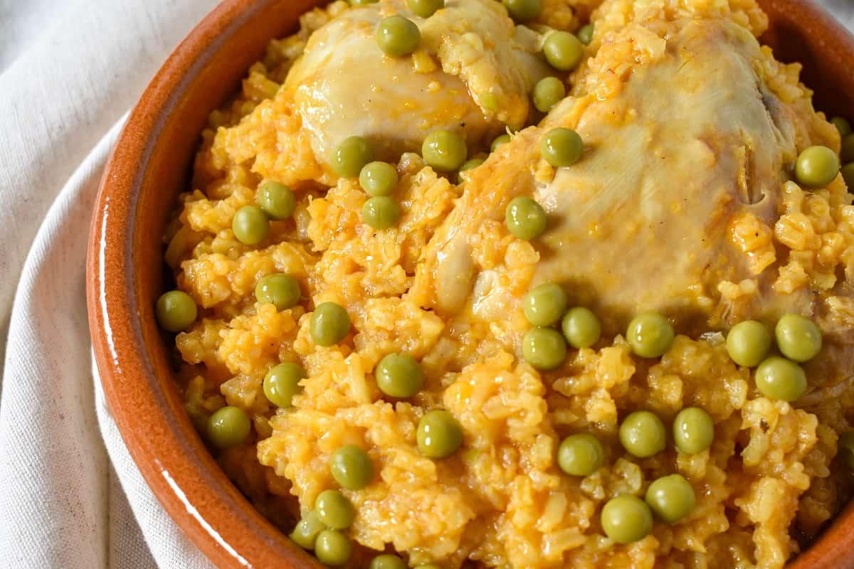 Arroz con Pollo (Cuban Chicken and Rice)