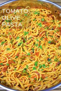 Tomato Olive Pasta