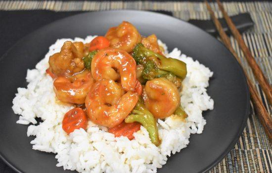 Shrimp and Vegetable Stir Fry