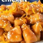 Orange chicken pin