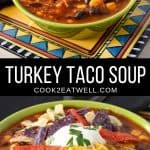 Turkey Taco Soup Pin