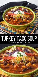 Turkey Taco Soup Pin